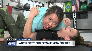 """Valociraptor"": WNY's first pro female MMA fighter"