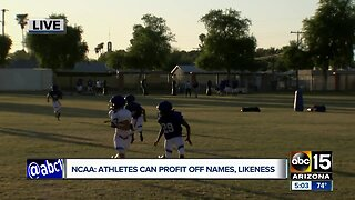 Chandler HS standout player reacts to NCAA ruling
