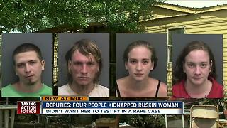 Deputies: Four people kidnapped Ruskin woman - Video