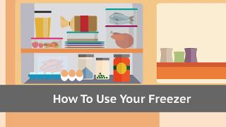 How To Use Your Freezer - Video