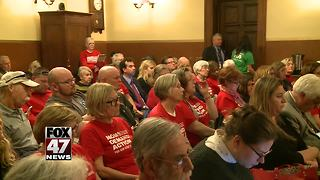 Michigan gun bill goes to the Senate floor - Video