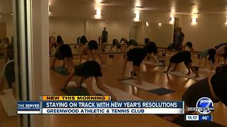 Sticking with New Year's Resolutions - Video