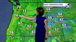 Beautiful fall weather ahead for SW Idaho heading into the weekend - Video