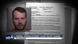 Criminal defense attorney facing felony charges