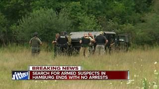Hamburg Police end search for 'possibly armed and dangerous' suspects - Video