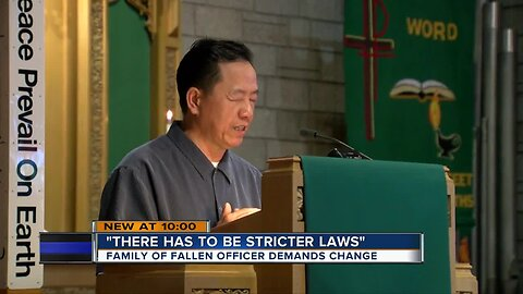 Family of fallen MPD officer calls for OWI laws changes