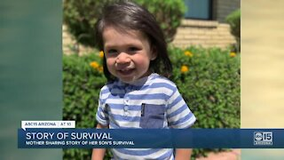 Valley toddler makes 'miraculous' recovery after near-drowning
