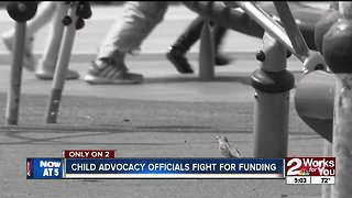 Child advocacy officials fight for funding