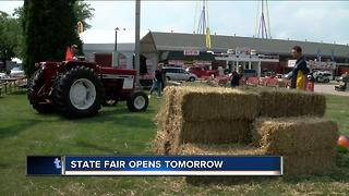Wisconsin State Fair  is ready for rainy opening - Video