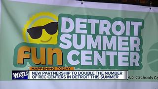 Detroit Mayor to announce more rec centers this summer - Video