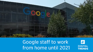 Google employees to work from home until July 2021