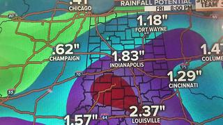 Rainfall potential & weekend forecast. - Video