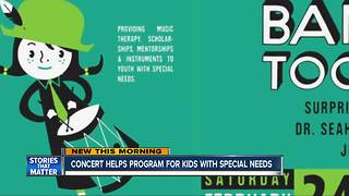 Belly Up Concert Helps Raise Funds for Music Program to Help Special Needs Kids - Video