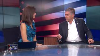 Victor Mitchell says his business experience would give him an advantage as governor - Video