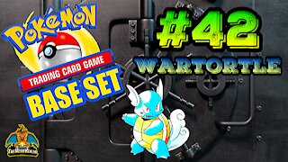 Pokemon Base Set #42 Wartortle | Card Vault