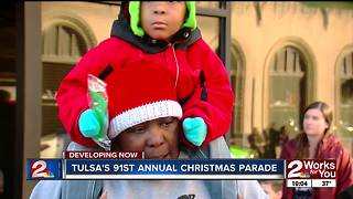 Tulsa Christmas Parade - Video