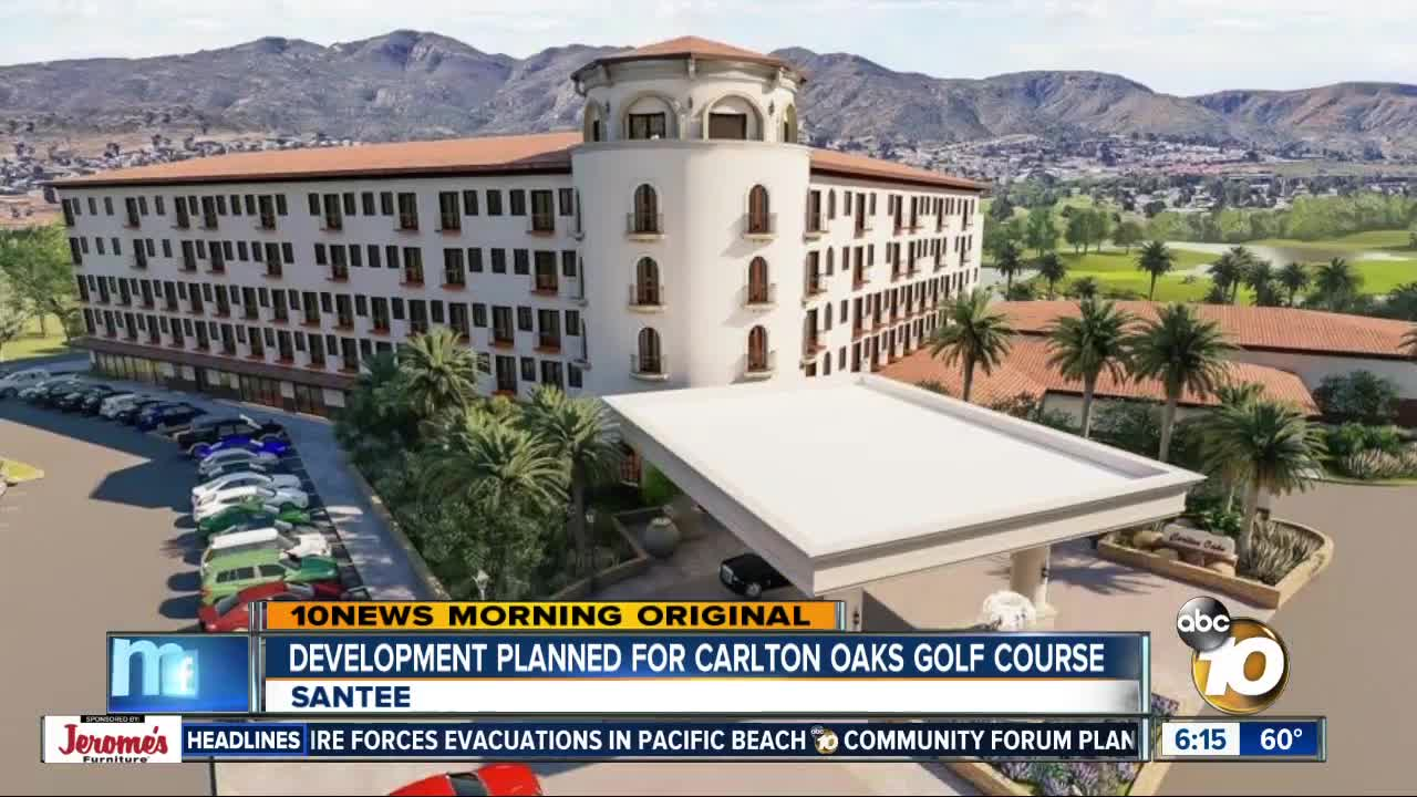 Development planned for Carlton Oaks Country Club