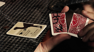 The Coin Coaster & a Killer Card Trick Performance - Video