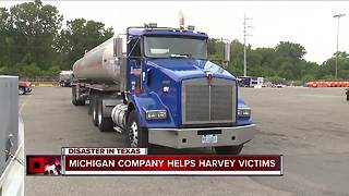 Michigan company helps Harvey victims - Video