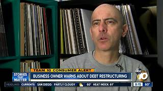 Local business owner warns about debt restructuring - Video
