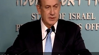 Israeli PM Says They Have Hard Proof Obama Admin Was Behind UN Resolution - Video
