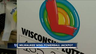 Powerball: Milwaukee woman wins $156.2 million in Wisconsin Lottery jackpot - Video