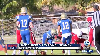 Cardinal Newman defeats Santaluces football 5/24