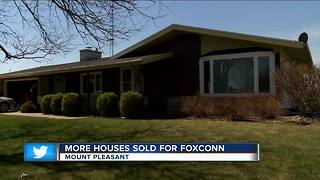 Mt. Pleasant residents selling homes for Foxconn