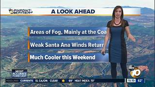 10News Pinpoint Weather with Meteorologist Megan Parry