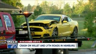 High speed crash in Hamburg - Video