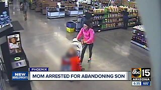 Police identify, arrest mother who abandoned child in parking lot