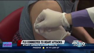 Research connects flu to heart attacks - Video
