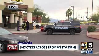 Shooting occurs across the street from Westview High School - Video