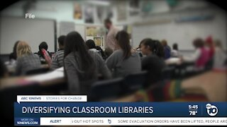 Teachers adding diversity to classroom libraries