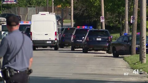 Witnesses describe shooting that injured KCPD officer