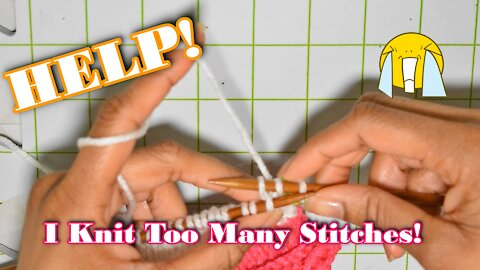 How to Reverse Your Stitches in Knitting Correcting Your Stitches