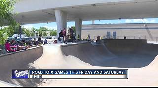 Road to X Games this weekend - Video