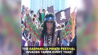 Gasparilla Pirate Festival invades Tampa every year | Taste and See Tampa Bay - Video