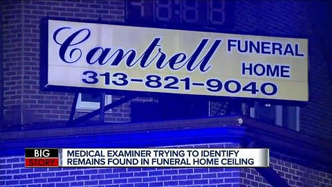 DPD opens criminal investigation after bodies of 11 infants found in former funeral home ceiling