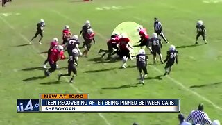 Sheboygan youth football player recovering from serious injuries after car crash