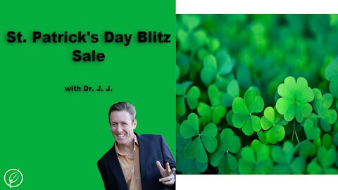 St. Patrick's Day Blitz Sale on some great USDA Organic Products