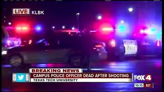 Campus Police Officer Dead after shooting - Video
