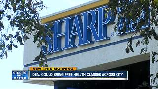 Free health classes could come San Diego-wide - Video