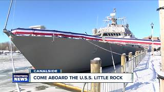 U.S.S. Little Rock tour - Video