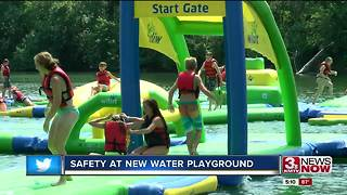 New Louisville water playground playing it safe
