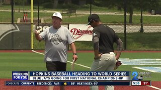 Hopkins getting some help from above en route to World Series