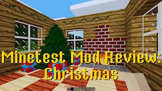 Minetest Mod Review: Christmas