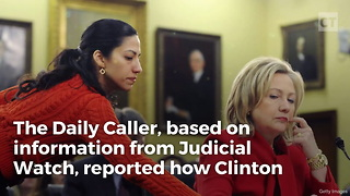 Trump Unleashes On Abedin For Email Scandal - Video