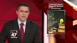 Jackson hosts back to school giveaways - Video