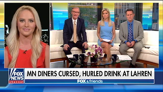 Tomi Lahren Has Drink Thrown At Her At Restaurant, Trump Defends Her